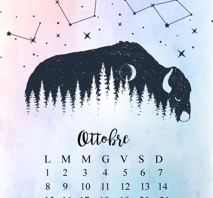 Downloads: Il Calendario. Ottobre